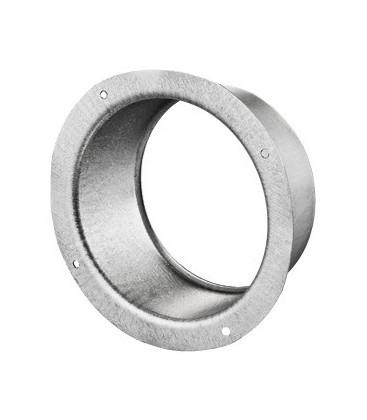 Flangia in acciaio zincato 125mm