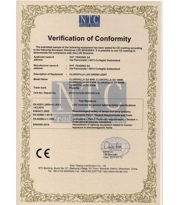 PhytoLED Clorofilla COB CREE 3070 165